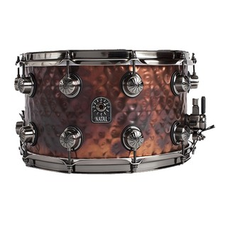 Natal 'Meta Series' Steel Hammered 14x5.5 Snare Drum