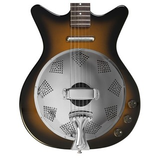 Danelectro 59 Resonator Electric Guitar, Tobacco Sunburst