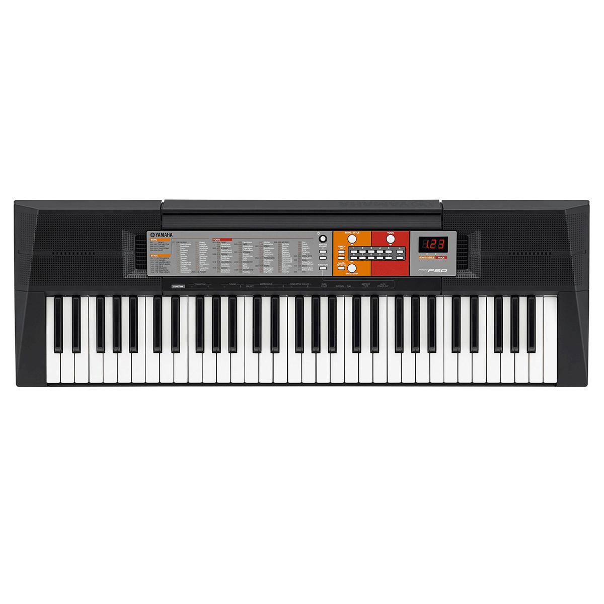 Yamaha psr f50 portable keyboard b stock gear4music for Yamaha piano keyboard 61 key psr 180