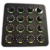 DJ Tech strumenti MIDI Fighter Twister, nero