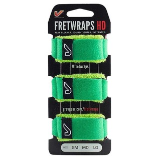 Gruv Gear FretWraps HD Leaf Green 3-Pack, Medium