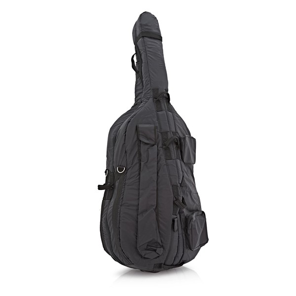 Westbury Deluxe Padded 3/4 Double Bass Gig Bag, with Wheels