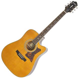 Epiphone DR-500MCE Masterbuilt Electro Acoustic Guitar, Natural