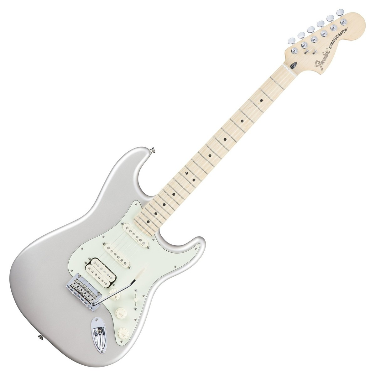 fender deluxe stratocaster hss electric guitar blizzard pearl at gear4music. Black Bedroom Furniture Sets. Home Design Ideas