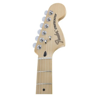 Fender Deluxe Stratocaster HSS Electric Guitar, Blizzard Pearl
