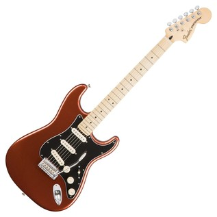 Fender Deluxe Roadhouse Stratocaster Electric Guitar, Classic Copper