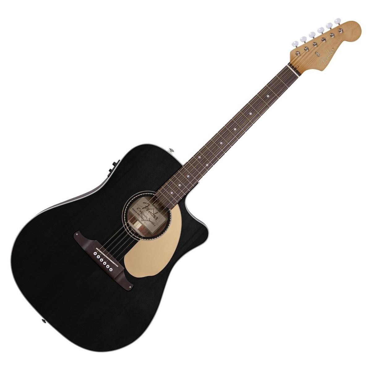 fender sonoran sce thinline guitare electro acoustique noir. Black Bedroom Furniture Sets. Home Design Ideas