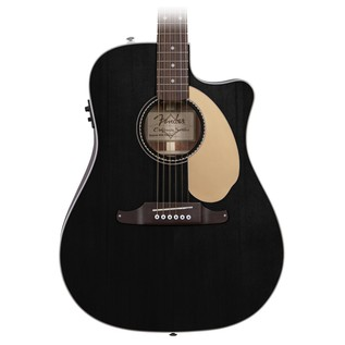 Fender Sonoran SCE Thinline Electro Acoustic Guitar, Black