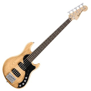 Fender Deluxe Dimension V Bass Bass Guitar, Natural