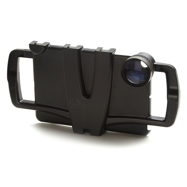 iOgrapher Case for iPad Mini, Retina 2/3 & first generation - Case With Lens (Lens Not Included)