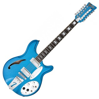 Italia Jeffrey Foskett Signature Electric Guitar, Cobalt Blue