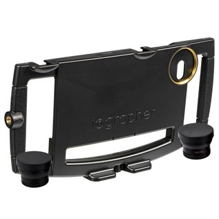 iOgrapher Case for iPhone 6+, Plus Wide Angle & Telephoto Lenses - Case And Lens