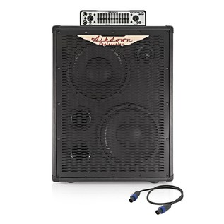 Ashdown Retroglide-800 Head and 2 x 10'' ABM Cab