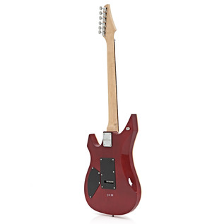 Indianapolis Electric Guitar by Gear4music, Quilted Trans Red