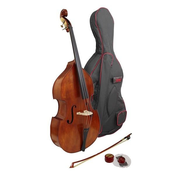 Hidersine Vivente Double Bass Outfit, 1/2 Size