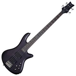 Schecter Stiletto Studio-4 Bass Guitar,See-Thru Black