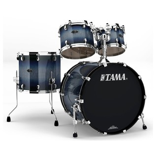 Tama Starclassic 4 Pc Performer B/B Shell Pack, Smokey Indigo Burst