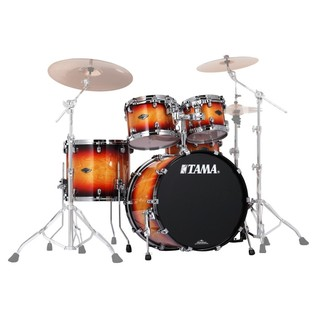 Tama Starclassic 4Pc Performer B/B Shell Pack, Tri Burst Tobacco
