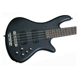 Schecter Stiletto Studio-8 Bass Guitar, Black