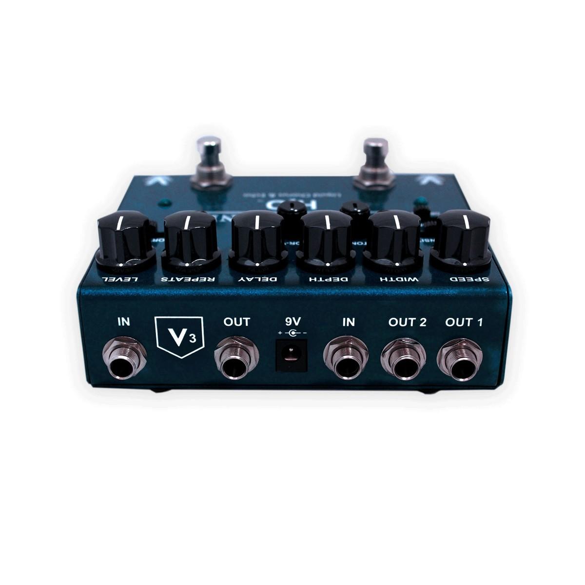 visual sound v3 h2o premium chorus echo guitar pedal b stock at gear4music. Black Bedroom Furniture Sets. Home Design Ideas