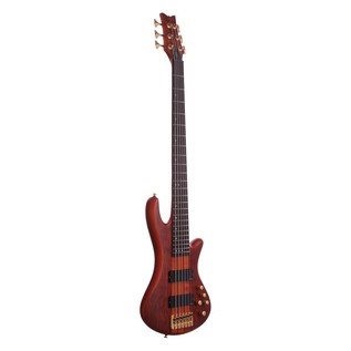 Schecter Stiletto Studio-6 Bass Guitar, Honey