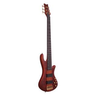 Schecter Stiletto Studio-6 Bass Guitar,Honey