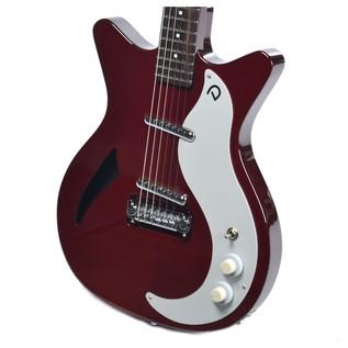 Danelectro DC59M Spruce Electric Guitar, Chianti