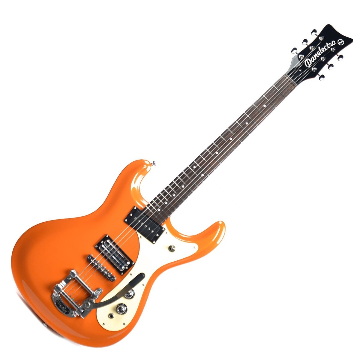 danelectro 64 electric guitar metallic orange at gear4music. Black Bedroom Furniture Sets. Home Design Ideas