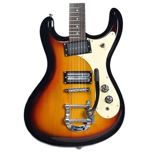 Danelectro 64 Electric Guitar, 3 Tone Sunburst