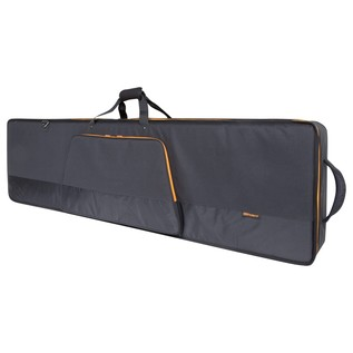 Roland CB-G88L 88-Key Keyboard Bag with Wheels - Angled Closed