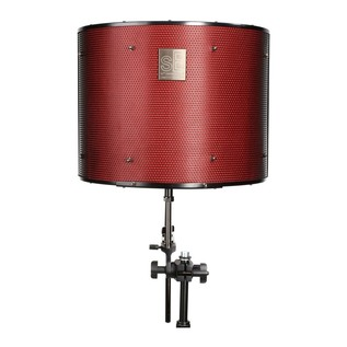 Focusrite Scarlett Studio with LTD sE Reflexion Filter Pro - Filter Front