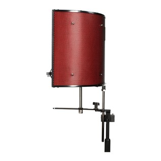 Focusrite Scarlett Studio with LTD sE Reflexion Filter Pro - Filter Side