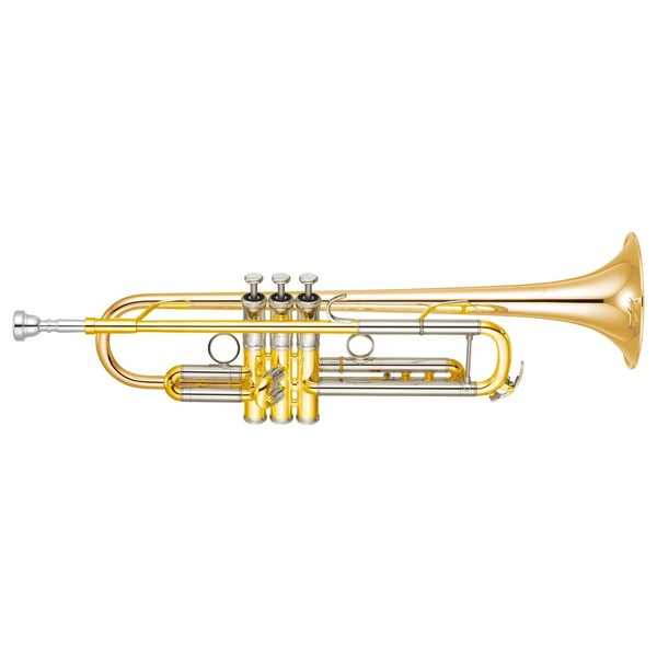 Yamaha YTR8335G Xeno Trumpet, Lacquer, Reverse Leadpipe