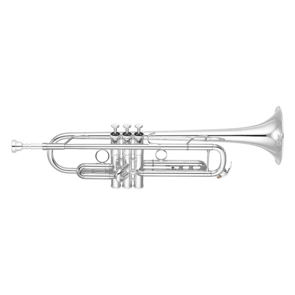 Yamaha YTR8335G Xeno Trumpet, Silver Plate, Reverse Leadpipe