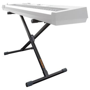 Roland KS-1X X-Braced Keyboard Stand - Angled View 2 (Keyboard Not Included)