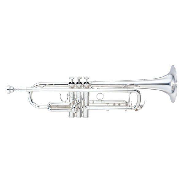 Yamaha YTR8335LA Xeno Bb Custom Pro Trumpet, Silver Plated