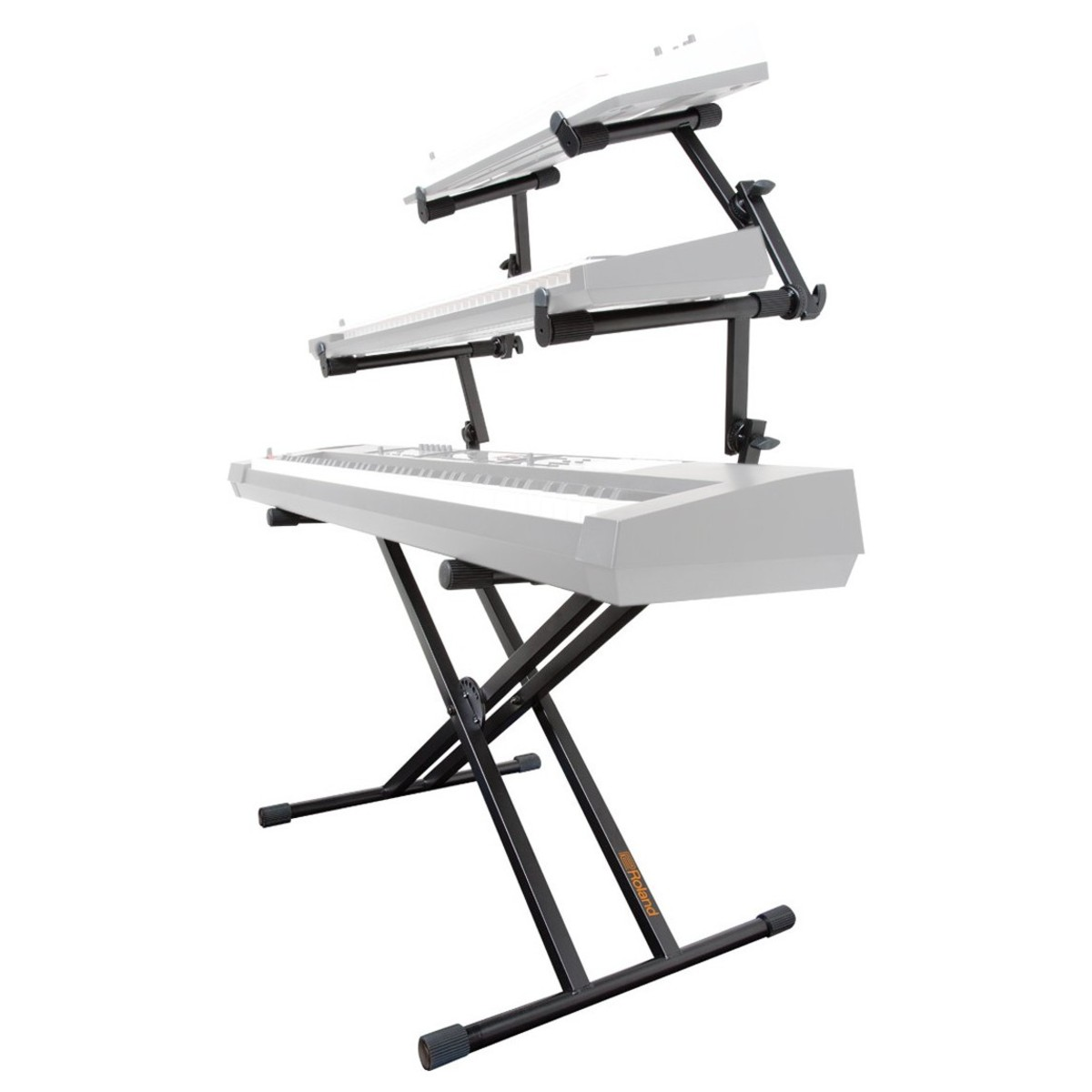 disc roland ks 32x double braced keyboard stand 3 tier at gear4music. Black Bedroom Furniture Sets. Home Design Ideas