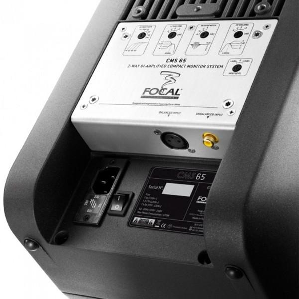 Focal CMS 65 Compact Studio Monitor (Single) Detail