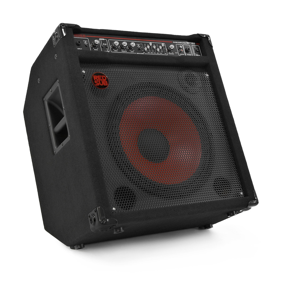 redsub bp150 150w bass guitar amplifier b stock at gear4music. Black Bedroom Furniture Sets. Home Design Ideas