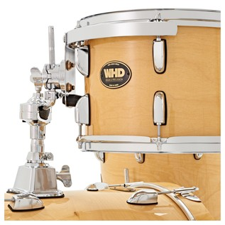 WHD Birch 4 Piece Jazz Complete Drum Kit, Natural