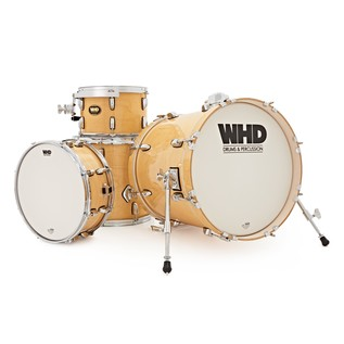 WHD Birch 4 Piece Jazz Drum Kit, Natural