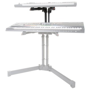 Roland KS-PRO-2T Add-On Tier for Folding Keyboard Stand - Angled (Keyboards Not Included)