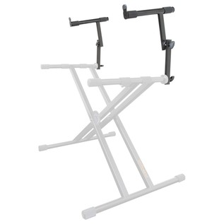 Roland KS-STX Add-On Tier for x-Braced Keyboard Stands - Angled
