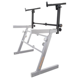 Roland KS-STZ Add-On Tier for Z-Style Keyboard Stand - Angled