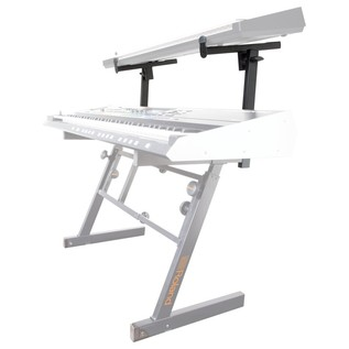 Roland KS-STZ Add-On Tier for Z-Style Keyboard Stand - Angled (Keyboards Not Included)