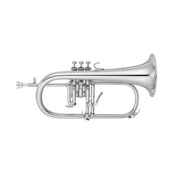 Yamaha YFH-8310ZGS Custom Model Bb Flugel Horn, Silver-Plated