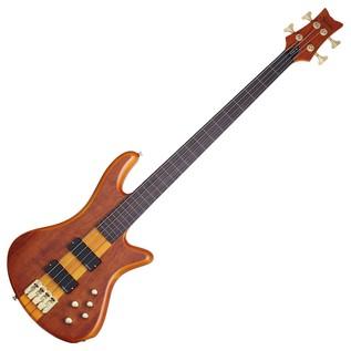 Schecter Stiletto Studio-4 FL Bass Guitar,Honey Satin