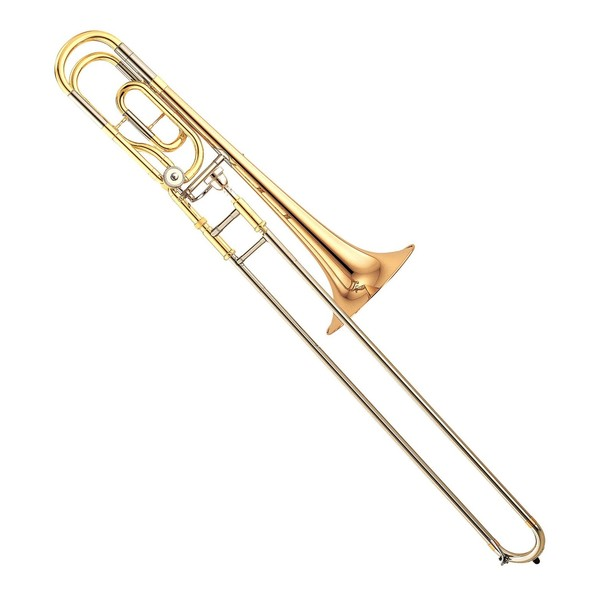 Yamaha YSL-446 Intermediate Bb/F Trombone, Nickel Silver Slide