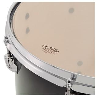 WHD Birch 5 Piece Rock Custom Drum Kit, Green Burst