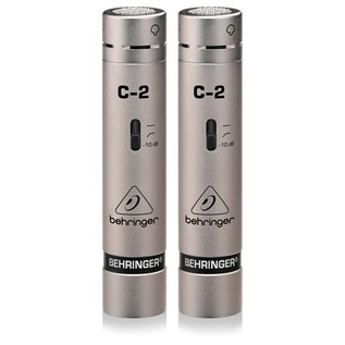 Behringer C-2 Condenser Microphone, Matched Pair - Microphones